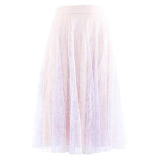 Erdem Purple Silk Skirts