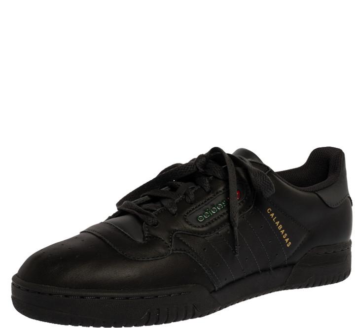 Yeezy x Adidas Grey Leather Powerphase Calabasas Sneaker Size 42