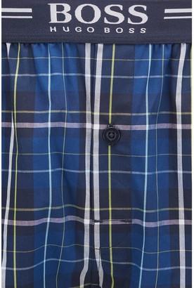 HUGO BOSS Bodywear 2 Pack Woven Boxer Shorts - Navy