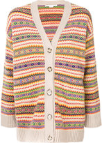Stella McCartney stripe patterned cardigan