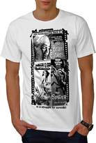 Vintage Horror Film Men XXXL T-shirt | Wellcoda