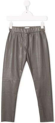 Unlabel Faux Leather Trousers