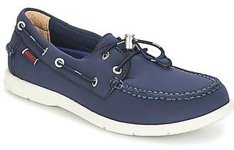 Sebago LITESIDES women's Boat Shoes in Blue