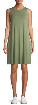 Time and Tru Women's Sleeveless Knit Dress