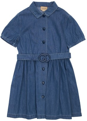 Gucci Cotton Denim Dress