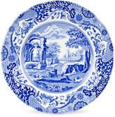 Spode Set Of Four 10.5In Blue Italian Dinner Plates