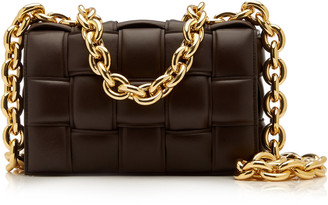 Bottega Veneta The Chain Cassette Padded Leather Crossbody Bag