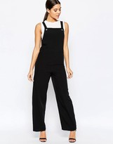 Missguided Utility Overall Style Jumpsuit