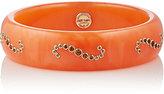 Mark Davis Women's Mixed-Gemstone & Orange Bakelite Bangle