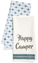 Levtex Happy Camper Set Of 2 Dish Towels