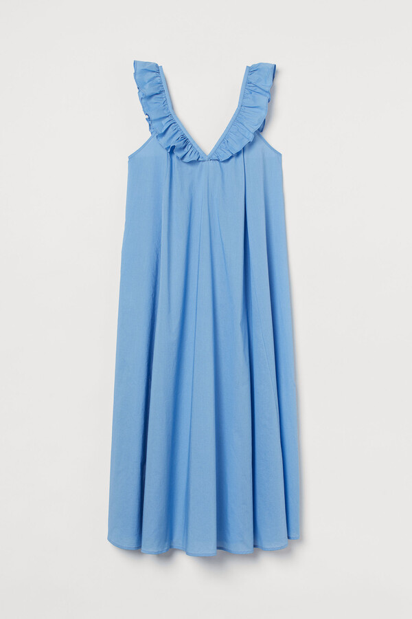 Thumbnail for your product : H&M Flounce-detail dress