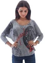 Desigual 67T25E2 T-shirt Femmes Gris