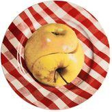 Seletti Wears Toilet Paper Twisted Apple Porcelain Dish