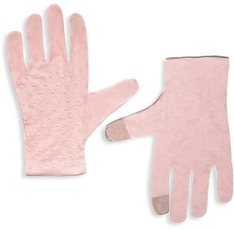 Lele Sadoughi Embellished Washable Gloves