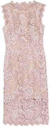 Dress the Population Cardea Sleeveless Crochet Lace Dress