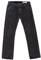 Rag & Bone Low-Rise Straight-Leg Jeans