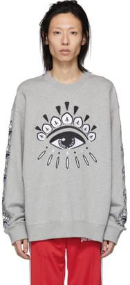 Kenzo Grey Eye Sweatshirt