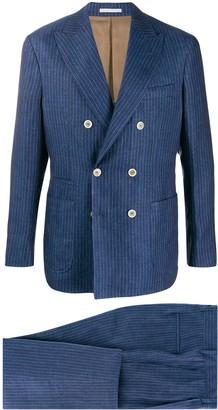 Brunello Cucinelli Striped Two Piece Suit