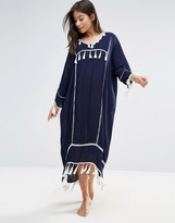 Liquorish Liquorsh Oversized Beach Cover Up