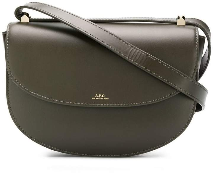 A.P.C. foldover top crossbody bag