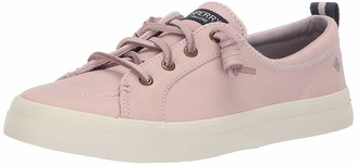 Sperry Women's Crest Vibe Washable Leather Fashion Sneakers