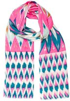 Matthew Williamson Wool Ikat Scarf