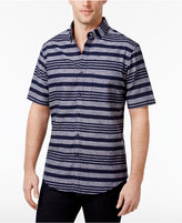 Club Room Men's Banks Multi-Striped Shirt, Only at Macy's
