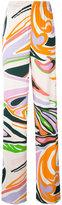 Emilio Pucci printed pants - women - Silk/Viscose - 40