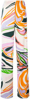 Emilio Pucci printed pants - women - Silk/Viscose - 44