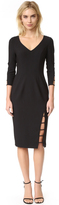 Black Halo Rizzo Sheath Dress