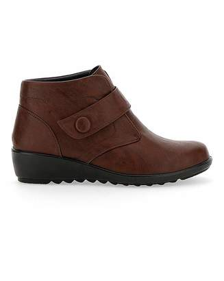 Cushion Walk Ankle Boots EEE Fit