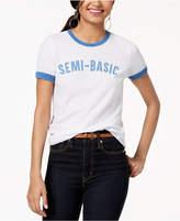 Freeze 24-7 Juniors' Semi-Basic Graphic-Print T-Shirt