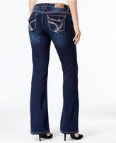 Ariya Juniors' Curvy Embellished Bootcut Jeans