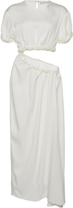 CHRISTOPHER ESBER Draped Cut-Out Stretch-Jersey Maxi Dress