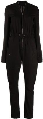 Rick Owens Zipped Elasticated Waist Jumpsuit