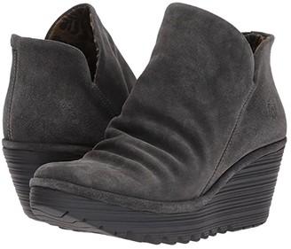 Fly London Yip (Diesel Oil Suede) Women's Shoes