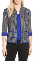Ming Wang Women's Jacquard Knit Jacket