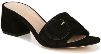 Via Spiga Block Heel Slide Sandals - Flor
