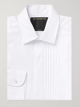 Favourbrook Slim-Fit Bib-Front Cotton Tuxedo Shirt