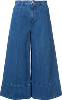 Co cropped wide-legged jeans