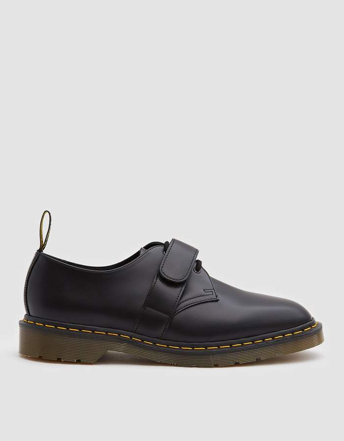 Dr. Martens x Engineered Garments 1461 Smith Shoe in Black