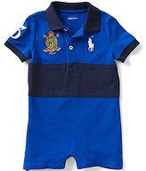 Ralph Lauren Baby Boys 3-24 Months Banner-Stripe Polo Shortall