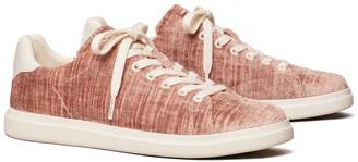 Tory Burch Howell Court Velvet Sneaker