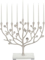 Michael Aram Botanical Leaf Menorah, White