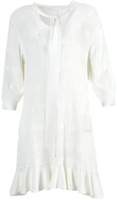 Chloé Eden White Knit Dress