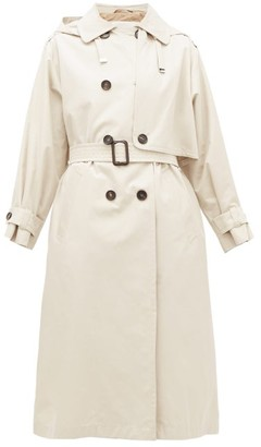 Max Mara Btrench Coat - Womens - Ivory