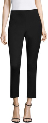 Donna Karan Seamed Cropped Leggings