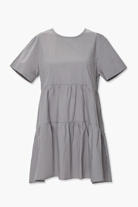 Forever 21 Flounce Shift Mini Dress