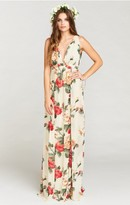 MUMU Ava Maxi Dress ~ Lady Rose Chiffon