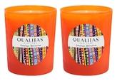 Qualitas Candles Orange Blossom Beeswax Candles (Set of 2) (6.5 OZ)
